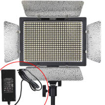 Yongnuo YN 600 L PRO LED lámpa 5500K KIT hálózati táppal
