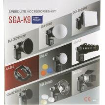 K9 SGA Univerzális rendszervaku fényformáló kit 9db.-os
