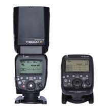 Yongnuo YN600EX RT II rendszervaku és YN E3 RT vezérlő kit