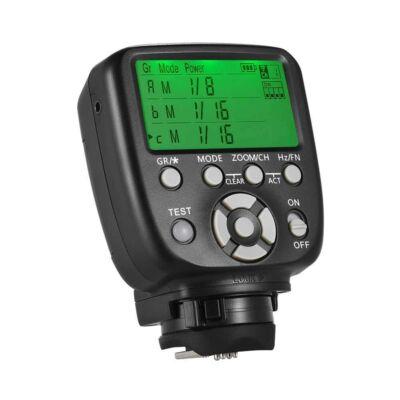 YN 560 TX vaku vezérlő  660 és 560 III és IV  manuál vakuhoz Nikon vázra