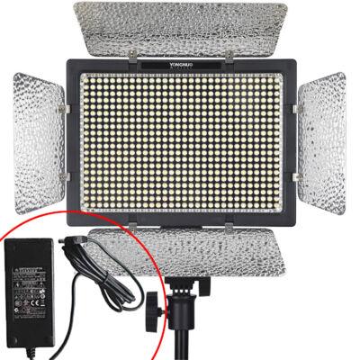 Yongnuo YN 600 L II PRO LED lámpa 5500K KIT hálózati táppal