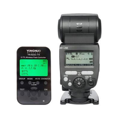 Yongnuo YN685C vaku YN622TX vezérlő kit Canonhoz
