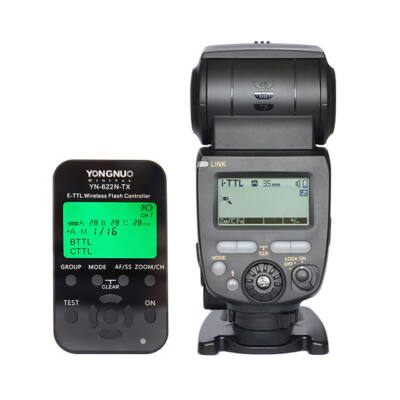 Yongnuo YN685N vaku YN622TX vezérlő kit Nikonhoz