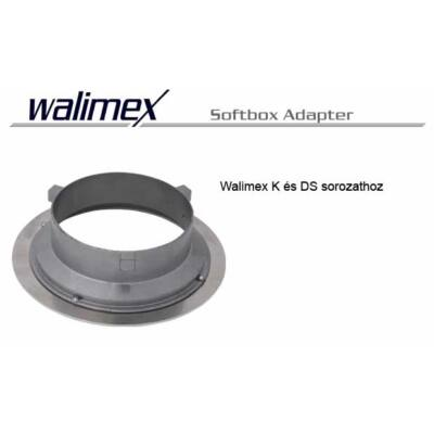 Walimex K és Ds softbox adapter