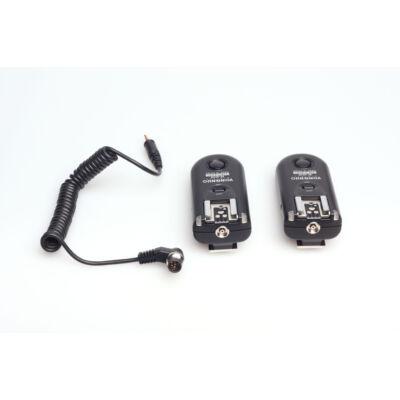 Yongnuo RF 603 II N1 2,4 GHz vaku és f.gép kioldó szett Nikon N1 + Univerzális