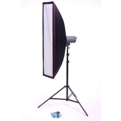 Hunbright Visico VC LR 400 35 x 125 cm csík szoftboxos távirányítós vaku szett
