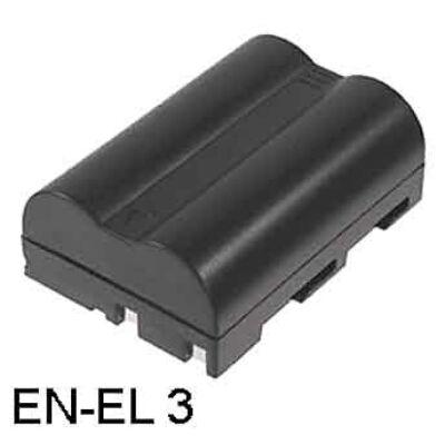 EN-EL3 Li-ion Akku 1600 mAh