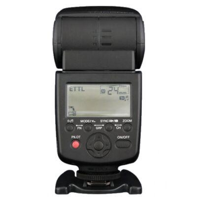 Yongnuo YN 568EX III Canon ETTL rendszervaku, HSS szinkron, Master funkció