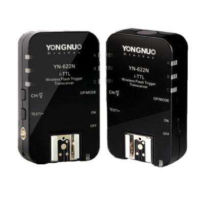 Yongnuo YN 622 N II TTL vaku kioldó Nikon iTTL  kit