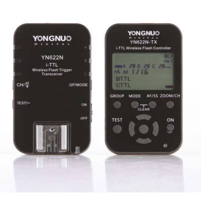 Yongnuo YN 622 N TX KIT TTL vaku kioldó Nikon iTTL rendszerhez