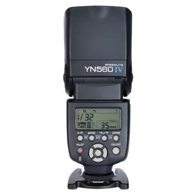 Yongnuo YN 560 IV manuál vaku beépített vevővel és TX-szel