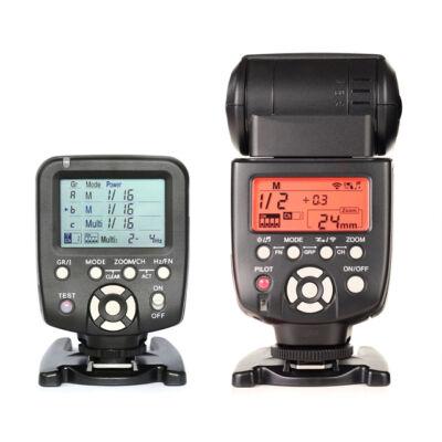 Yongnuo 560 IV vaku és 560 TX Nikon kioldó és távirányító