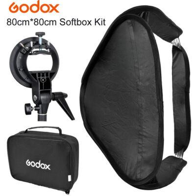 Godox SFUV 80x80 cm Easy softbox és multifunkciós vaku konzol