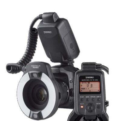 Yongnuo YN 14EX Canon rendszervaku ETTL Makro Körvaku