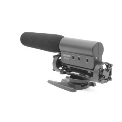 Takstar SGC-598 interjú mikrofon 3,5 mm TRS jack stereo csatlakozással