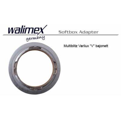 Multiblitz Varilux 'V' bajonett softbox adapter