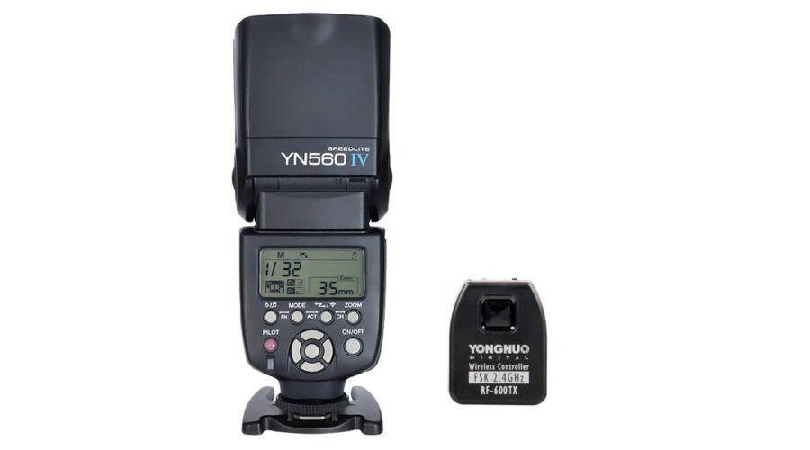 34b10a128916 Yongnuo YN 560 IV beépített 2,4GHz-es rádiós kioldó jelvevővel + 600 TX  jeladó szett - Yongnuo Rendszervaku