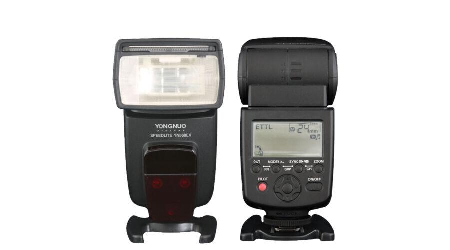 38f221548ace Yongnuo YN 568 EX III Nikon iTTL vaku - Yongnuo Rendszervaku